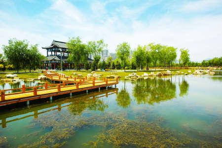 Silk Road Cultural Park 免版税图像