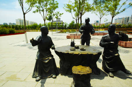 Silk Road Cultural Park sculpture