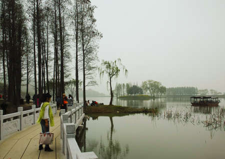 Taihu scenery Stock Photo