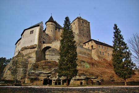 El viejo castillo Kost en República Checa