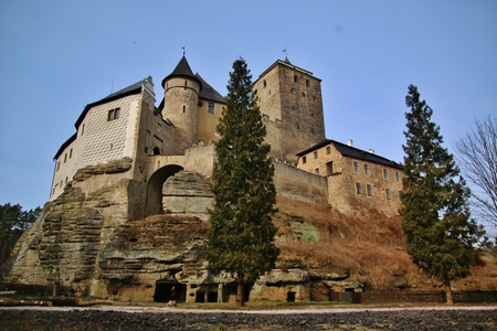 The Old castle Kost in Czech Republic