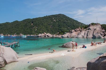 nang: Koh Nang yuan Island in Thailand next to Sumui