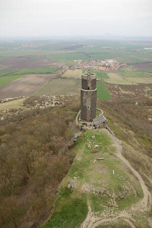 ruin: old castle ruin in Czech republic