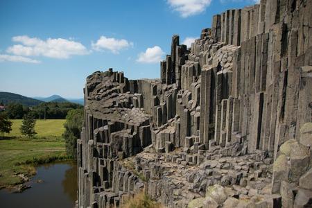 skala: National Natural Monument of Panska Skala in the Czech Republic