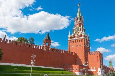 spasskaya: Spasskaya Tower of Kremlin in Moscow, Russia
