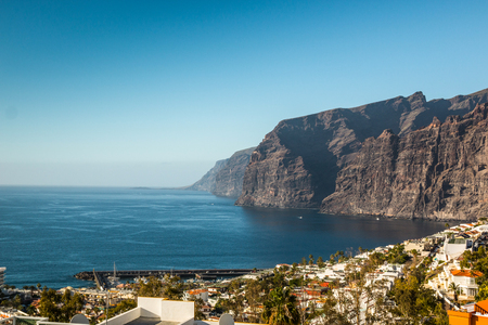 Los Gigantes Cliff in Canary Islands, Tenerife, Spain