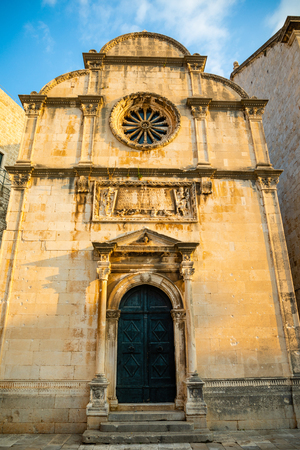 St. Saviour Church or Crkva sv. Spasa - a small votive renaissance church located in the old town of Dubrovnik in Croatia