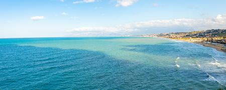 Beautiful seaview from Alcamo Marina in Sicily in Italy Foto de archivo - 119250174
