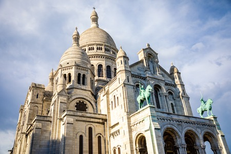 Basilica Sacre Couer at Montmartre in Paris, France Reklamní fotografie