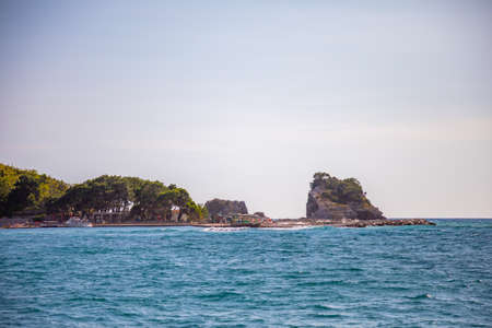 St. Nicholas Island near Budva, Montenegro Reklamní fotografie