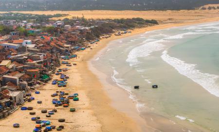 vietnam sea beach nature, outdoor vietnam Stock Photo