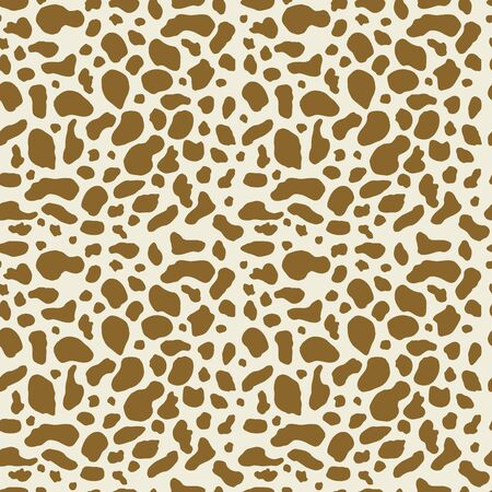 Giraffe seamless pattern. Vector seamless pattern, can be used for fabrics, wallpaper, web, card.