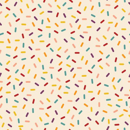 Colorful abstract pattern. Repeat pattern of bright colors and geometric figures.