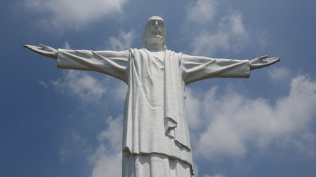 motionless: Statue Of Jesus Christ Stock Photo
