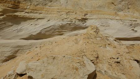 Geology Of Sand And Rock Reklamní fotografie