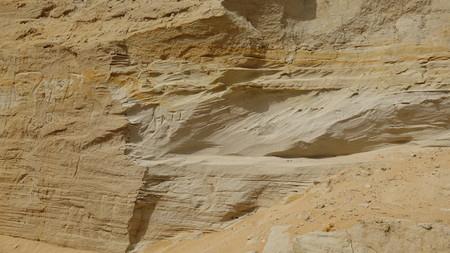 Rotsen Geologie en erosie Stockfoto