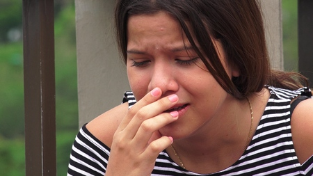 hurtful: Abuse Victims Or Teen Girls Crying