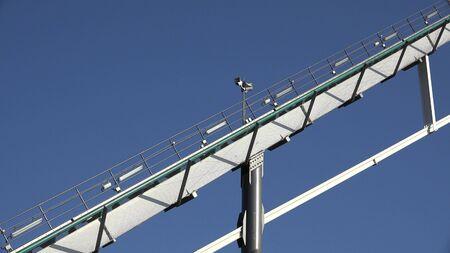 Rails Of Roller Coaster