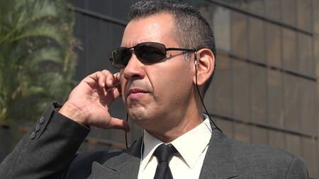 Fbi Agent Or Nsa Stock Photo