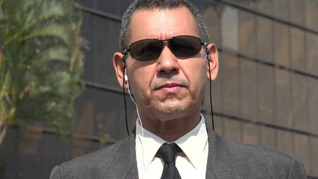 agent de sécurité: Fbi Or Security Agent