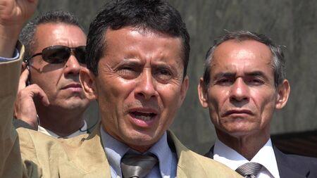 Political Leader Speaking