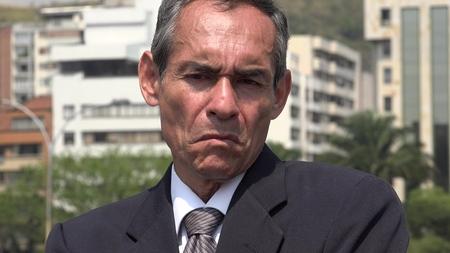 Grumpy Old Business Man