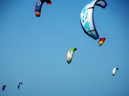 Kiteboarding Extreme Sports Stock fotó