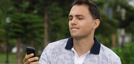 Man Confused About Cell Phone Technology