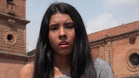 apathetic: Uncaring Apathetic Teen Girl