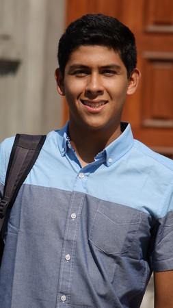 Hispanic Male Student