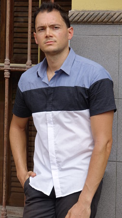 Man With Casual Pose