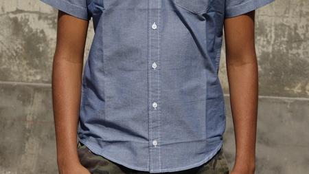 Casual Shirt Teen Boy Reklamní fotografie
