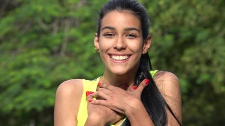 Colombian Teen In Love