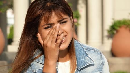 tearful: Tearful Young Female