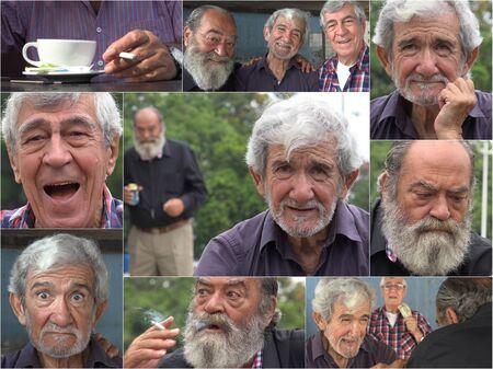Senior Citizen Old Friends Collage.Jpg
