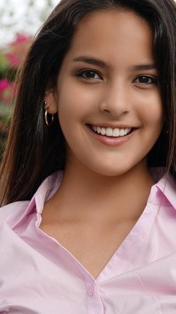 Peruvian Female Smiling