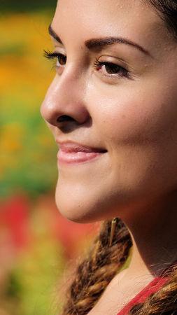 Face Of Youthful Female