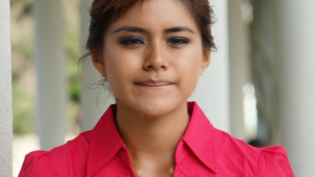 tearful: Tearful Teenage Girl Stock Photo