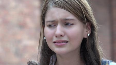 Sad Girl Confused Teen