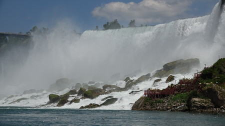 Misty Waterfalls Banco de Imagens