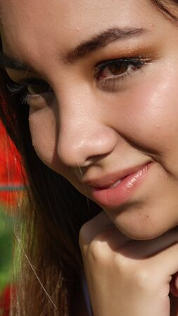 Person Thinking Close Up Banco de Imagens - 85060063
