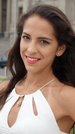 Peruvian Female And Elegance