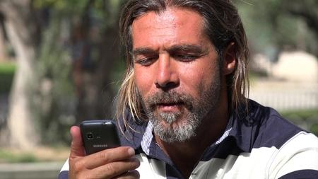 Male Making Phone Call