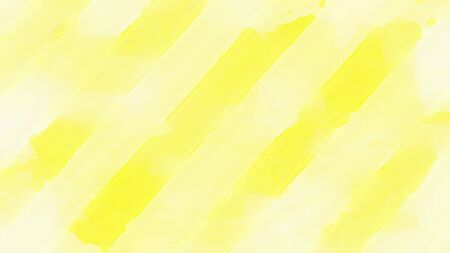 Soft Yellow Striped Abstract Imagens