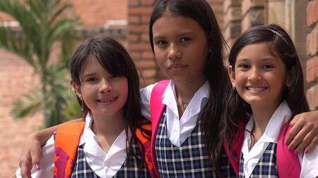 Female Catholic School Students