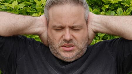 조용한 뚱뚱한 사람