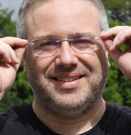 Male Wearing Glasses Stok Fotoğraf
