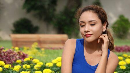 Peruvian Female Wondering