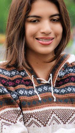 Peruvian Attractive Female Stock fotó
