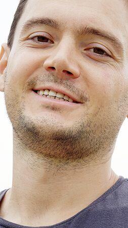 Smiling European Male Stok Fotoğraf